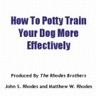 How To Potty Train Your Dog More Effectively
