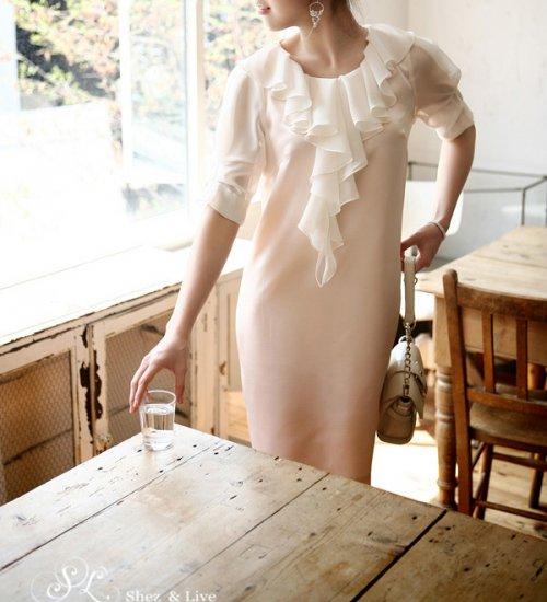 SH0026 - LAYERED BODICE DRESS