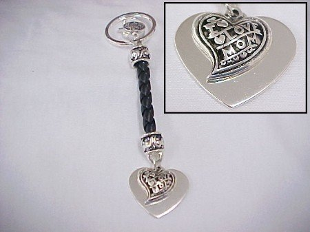 I Love Mom Keychain Clearance Item