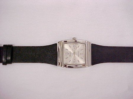Men's Watch Black Band Clearance Last One