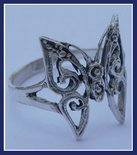 Sterling Silver Butterfly Ring #RNG132