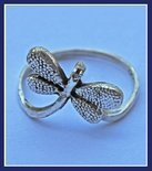 Sterling Silver Dragonfly Ring #RNG131