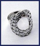 Sterling Silver Animal Print Ring #RNG095