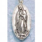 Sterling Silver Holy Mary Medal