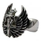 Stainless Steel Biker Ring