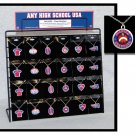 Necklace Cable Chain with Teams Logos For School Fundraising