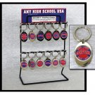 KeyChain with Team Logos For School Fundraising