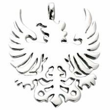 Stainless Steel Solid Cut Out Eagle Pendant