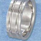 Stainless Steel 8mm Double Lined Band