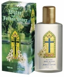 Holy Water from the Jordan River in Israel 4.2 FL Oz #7-13