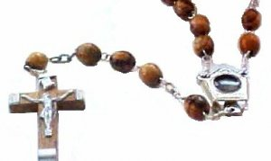 Rosary with Jordan River Holy Water #RS1