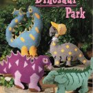 Dinosaur Park Family, Stuffed Animals, Plastic Canvas NEW