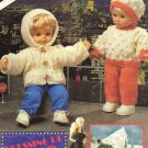 Patons Knitted Clothes for Barbies and Baby Dolls
