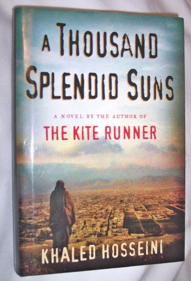 """a thousand splendid suns by khaled hosseini """"a thousand splendid suns"""" by khaled hosseini posted in fiction by mmelland """"a thousand splendid suns"""" is set in afghanistan and tells the stories of mariam and laila, two very different women who come to share a terrible fate but also a beautiful friendship."""