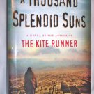 A Thousand Splendid Suns, by  Khaled Hosseini, hardback dustjacket