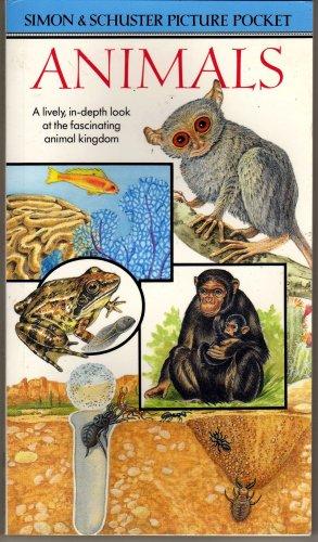 Animals Simon & Schuster Picture Pocket Book soft cover