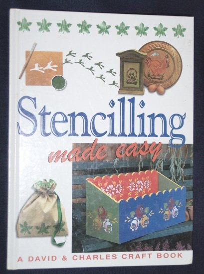 Stenciling Made Easy, by Susan and Martin Penny, hobby & craft how-to book, hardback