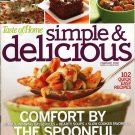 Taste of Home Simple & Delicious cooking magazine February 2008