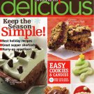Taste of Home Simple & Delicious cooking magazine Nov/Dec 2007