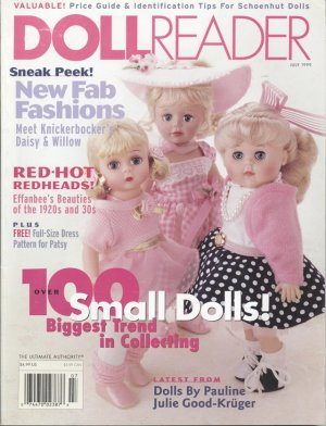 Doll Reader Doll Collector Magazine July 1999