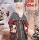 Old World Santa Sint Niklaes, Plastic Canvas Pattern, New