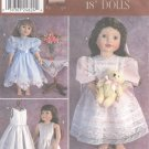"Heirloom Style Dresses, Fancy Frocks Magic Attic, American Girl, 18"" Doll, Sewing Pattern 9560 NEW"