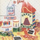Happy Birthday Party Decorations, Plastic Canvas, NEW