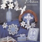 Symbols of Peace, Easter Decorations, Plastic Canvas  NEW