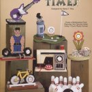 My Favorite Times, Decorative Clocks, Plastic Canvas  NEW