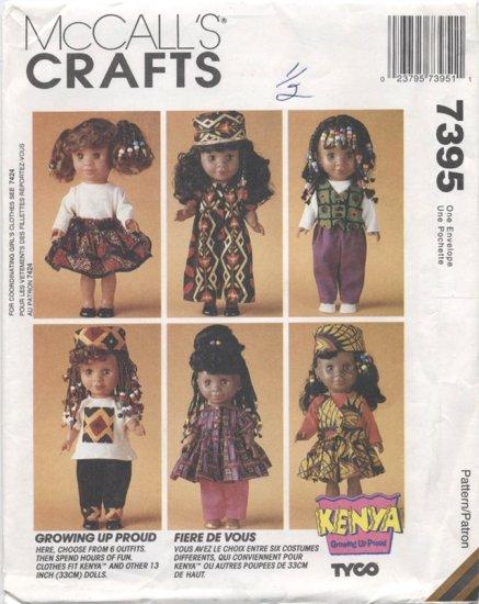 Kenya Doll Clothes Pattern, 13� (33cm), NEW 7395