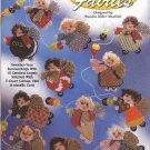 Sugarplum Fairies  Christmas Ornaments Plastic Canvas Booklet