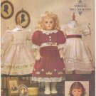 "Heirloom  Clothes Pattern for 18"" (45.7cm) Dolls Vogue 7163 (695) NEW"