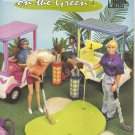 Barbie Fashion Doll On The Green Golf Course Plastic Canvas NEW