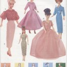 Barbie, 60's Retro Fashions, Vogue Craft 7241  NEW