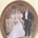Barbie and Ken Fashion Dolls, 1890's Wedding Dress and Tuxedo, Vogue Craft 9985 NEW