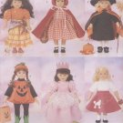 "Halloween Costumes for 18"" (45.5 cm) Magic Attic or American Girl dolls, Butterick 5661 NEW"