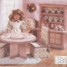No Sew Tea Party Furniture Set Vogue Craft 9580 NEW