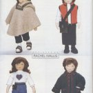 "Sew Doll Clothes for 23"" Soft Doll Butterick 6799 NEW"