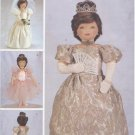 "Princess, Ballerina Costumes for 23"" (58.4 cm) Soft Dolls Butterick 3115 NEW"