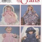 "Design Your Own Doll Clothes for dolls 12"" – 22"" Simplicity Craft  9286 NEW"