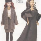 "Barbie 11 ½"" Fashion Doll 20th Century Outfits Vogue Craft 7243 NEW"