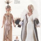 "Barbie 11 ½"" Fashion Doll 1920's Outfits Vogue Craft 7162 NEW"