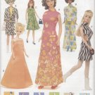 "Barbie 11 ½"" Fashion Doll Retro 60's Outfits Vogue Craft 7291 NEW"