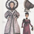 """Barbie 11 ½"""" Fashion Doll Early 19th Century, Vogue Craft 7296 NEW"""