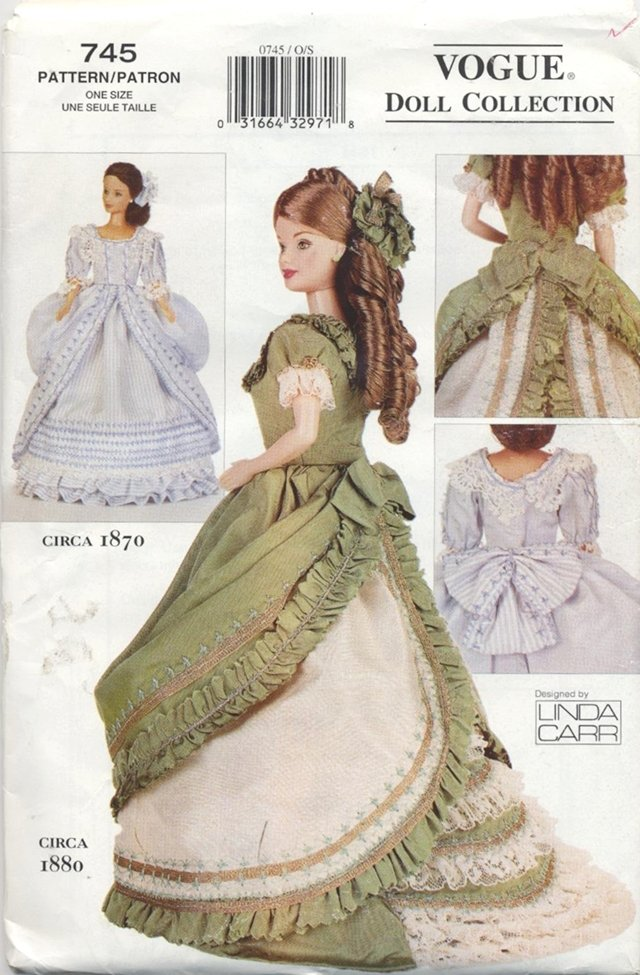 Barbie 11 ½� Fashion Doll 1870 Century Vogue Craft 745 NEW
