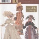 "Barbie 11 ½"" Fashion Doll 1900's Historical Gowns Simplicity Doll Collection 9522 NEW"