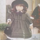 "Soft Doll Olivia, 18"", and Dress Patterns Vogue Craft 7007 NEW"