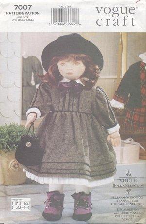 Soft Doll Olivia, 18�, and Dress Patterns Vogue Craft 7007 NEW