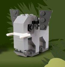 Lego Designer Set Elephant 4904
