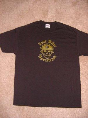 Men's Black LONE BIKER T-Shirt